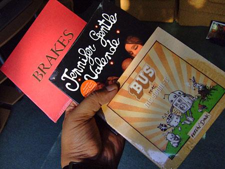 CDs I got on 24-8-2005