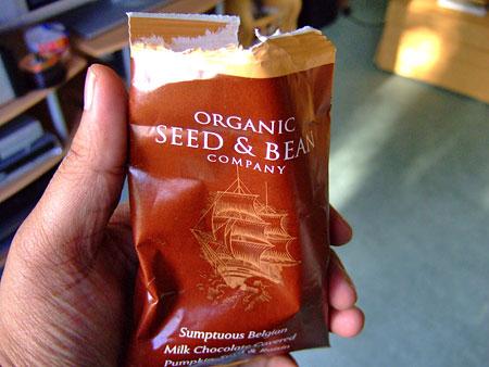 Mmmmm....organic chocolate