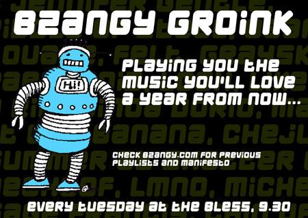 Bzangy DJing
