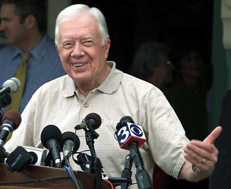 Jimmy Carter Anti-Bush