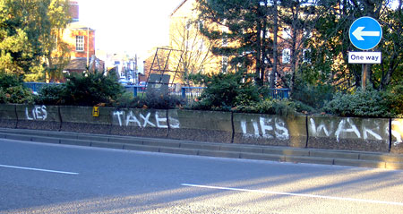 Lies Taxes Lies Wars