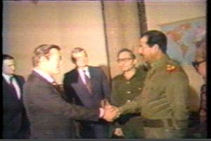 Rumsfeld and friend