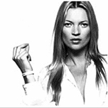 Kate Moss + Slave-labour made wristband