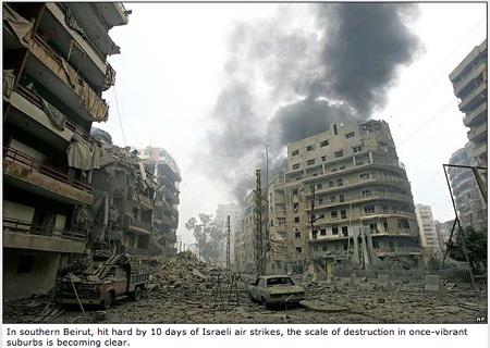 Israel Attacks Beirut