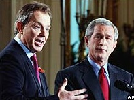 Bush + Blair