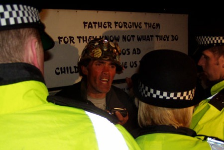 Brian Haw, British dissident