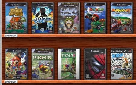 Delicious Library Games