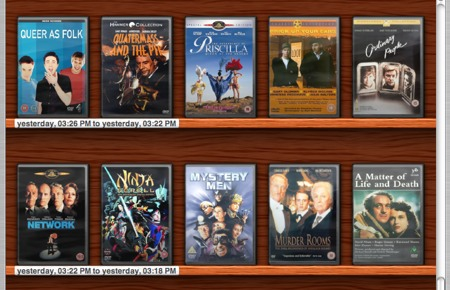 Delicious Library DVDs
