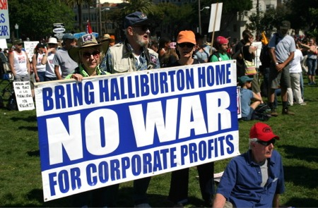 Halliburton funded by our council taxes
