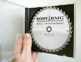 Sony Infected CDs