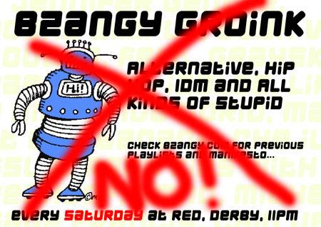 NO BZANGY!