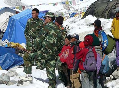 PRC Troops shoot refugees