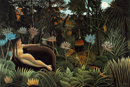 Henri Rousseau's 'The Dream'