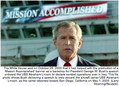 Bush - Mission Accomplished