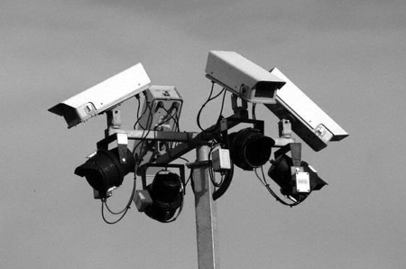 CCTV IS WATCHING YOU!