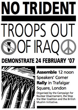 No Trident leaflet