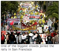 October 2007 Antiwar Protest