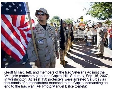 Washington Anti-War Protest