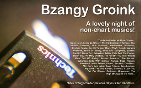 Bzangy Groink DJing