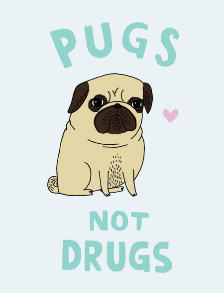 Gemma Corell - Pugs Not Drugs