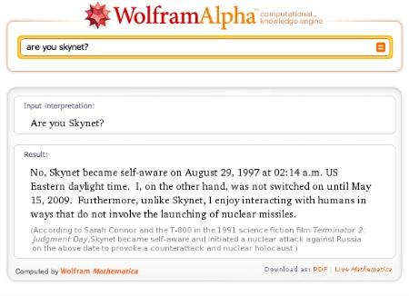 Wolfram Skynet